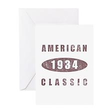 1934 American Classic Greeting Card