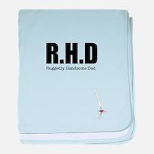 R H D baby blanket