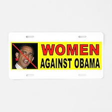 WOMEN Aluminum License Plate