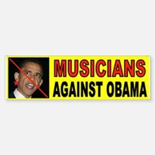 MUSICIANS Bumper Bumper Bumper Sticker