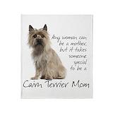 Cairn terrier Fleece Blankets