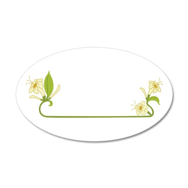 Wall stickers art nouveau : Honeysuckle border art nouveau wall decal by hopscotch