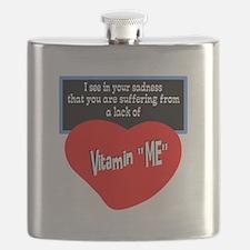 Vitamin Me/t-shirt Flask