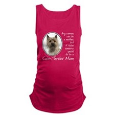 Cairn Terrier Mom Maternity Tank Top
