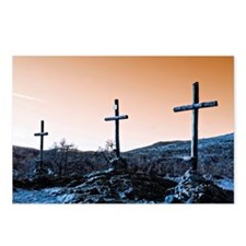 The Three Crosses Postcards (Package of 8)