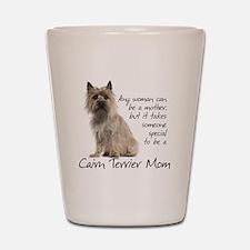 Cairn Terrier Mom Shot Glass