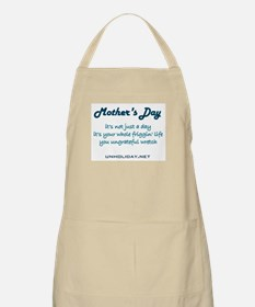 Mother's Day Wretch BBQ Apron