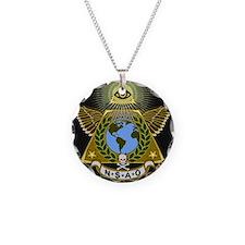 Illuminati NSAO#2 red Necklace