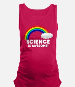 science.png Maternity Tank Top