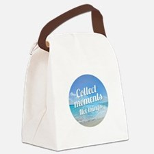 Collect Moments Canvas Lunch Bag