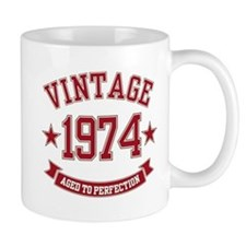 Vintage Aged to Perfection 1974 Mug