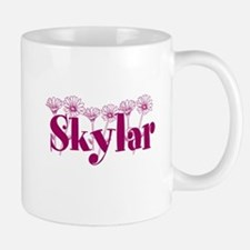 Purple Personalized Name Mugs