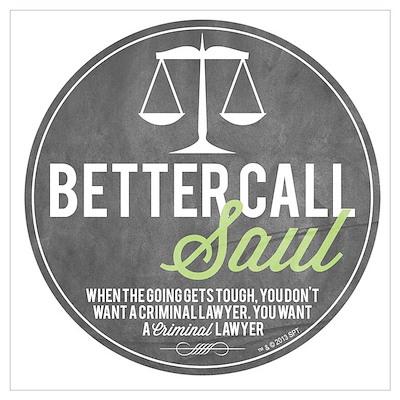 Better Call Saul Wall Art Poster