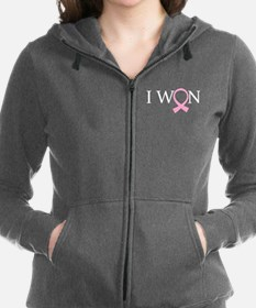 I Won Breast Cancer Zip Hoodie