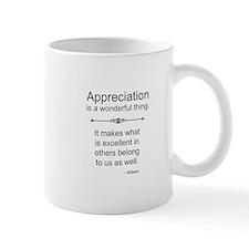 Appreciation is a wonderful thing Mugs