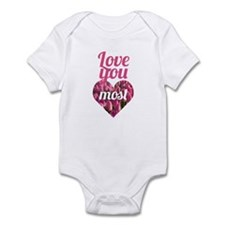 Love You Most Infant Bodysuit