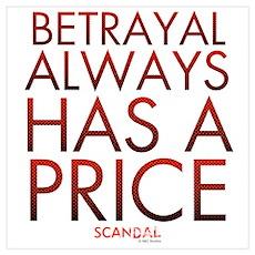 Betrayel-Light Wall Art Poster