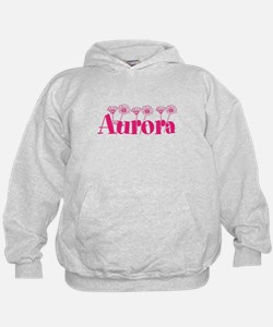 Pink Personalized Name Hoodie