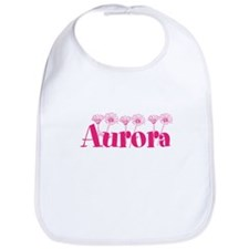 Pink Personalized Name Bib