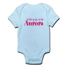 Pink Personalized Name Body Suit