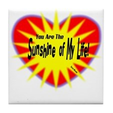 Sunshine Of My Life-Stevie Wonder/t-shirt Tile Coa