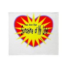 Sunshine Of My Life-Stevie Wonder/t-shirt Throw Bl