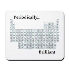 Periodically Brilliant Mousepad