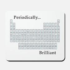 Periodically Brilliant Mousepad