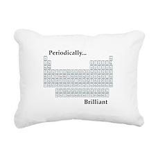 Periodically Brilliant Rectangular Canvas Pillow