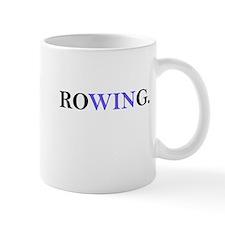 Rowing, focusing on WIN Mugs