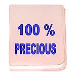 100 % PRECIOUS 2 Baby Blanket