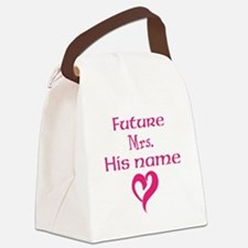 Personalize,Future Mrs. Canvas Lunch Bag