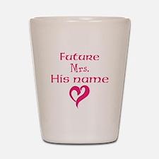 Personalize,Future Mrs. Shot Glass