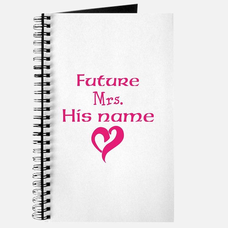 Personalize,Future Mrs. Journal