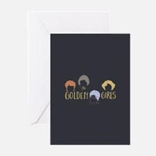 Golden Girls Minimalist s Greeting Cards