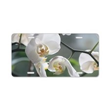 Orchid011 Aluminum License Plate