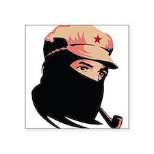Zapatista Comandante Marcos Rectangle Sticker