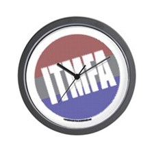 Patriot's ITMFA Wall Clock