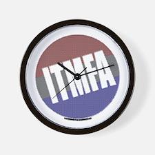 Patriot's ITMFA Wall Clock