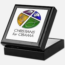 Christians for Obama Keepsake Box