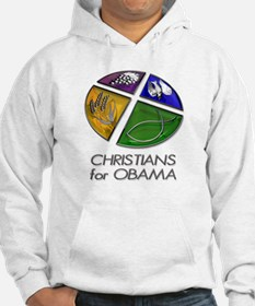 Christians for Obama Hoodie