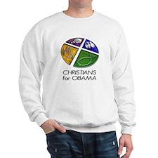 Christians for Obama Sweatshirt