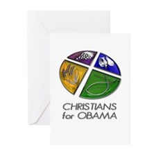 Christians for Obama Greeting Cards (Pk of 10)