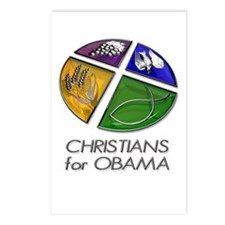 Christians for Obama Postcards (Package of 8)
