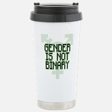 Gender Is NOT Binary Travel Mug