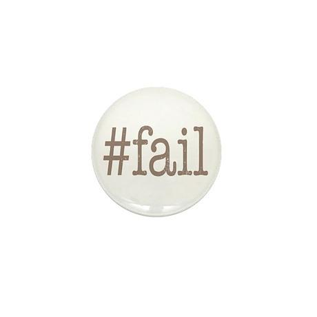 Hashtag Fail Mini Button (10 pack)