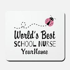 World's Best School Nurse Mousepad