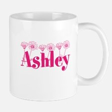 Pink Personalized Name Mugs