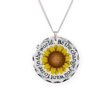 Be the Change you want to se Necklace