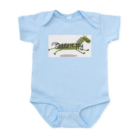 Saddle Happy Horse Infant Creeper